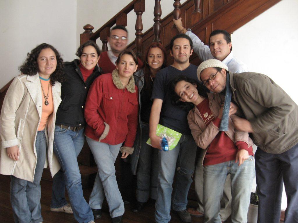Equipo Corporación Vínculos 2007